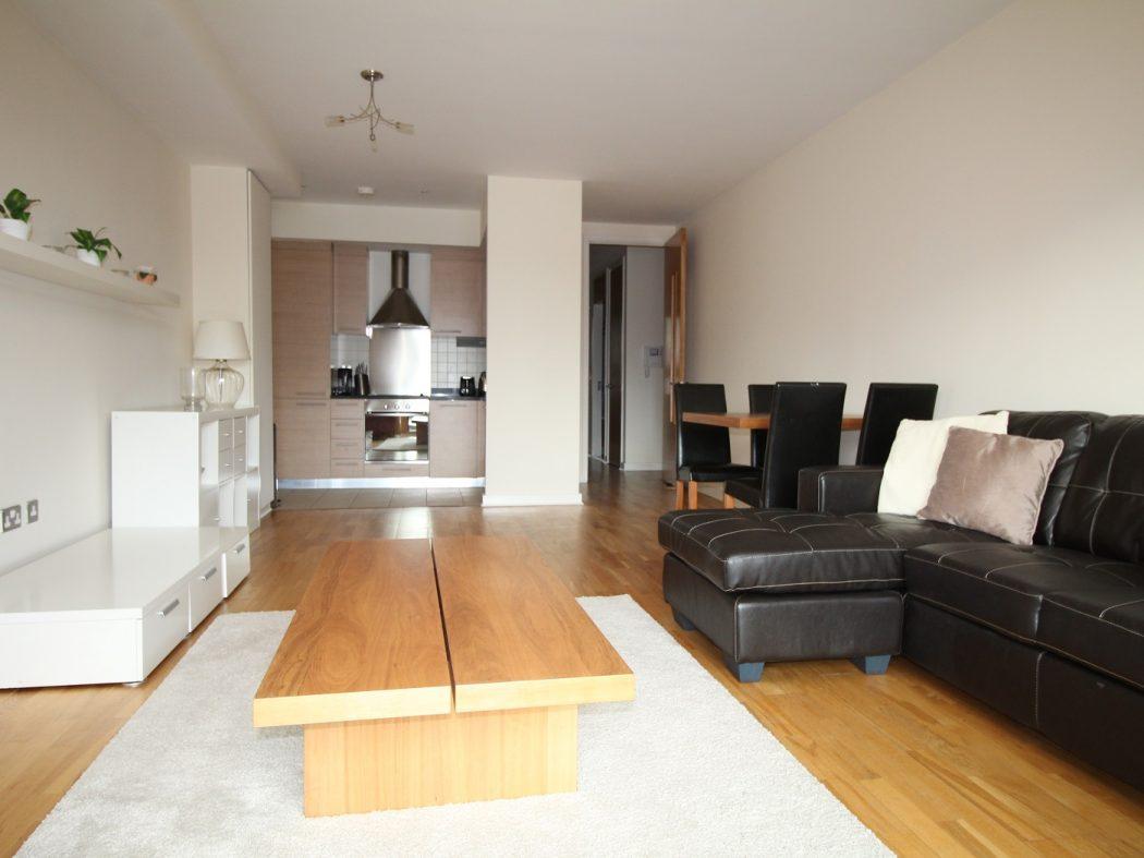 17 Hanover Dock - living room a