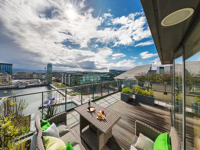 The Penthouse at Hanover Quay, 28 Hanover Dock, Grand Canal Dock, Dublin 2