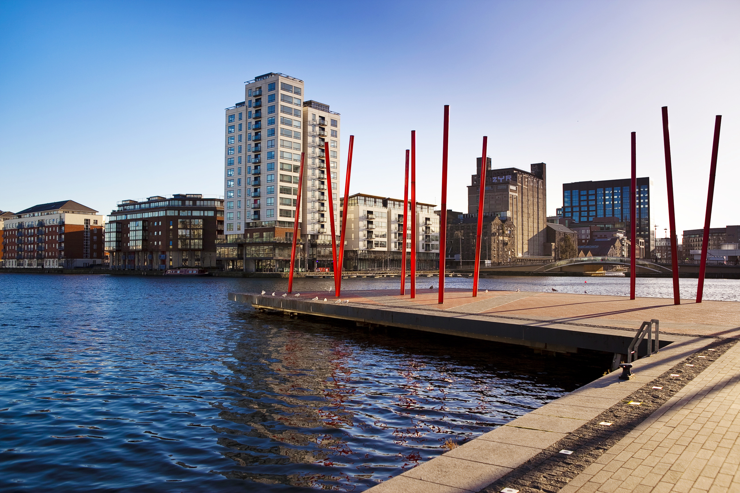 Gallery Quay, Grand Canal Dock, Dublin 2