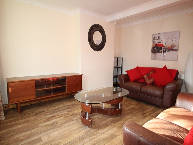 Terraced House North Facing Living Room