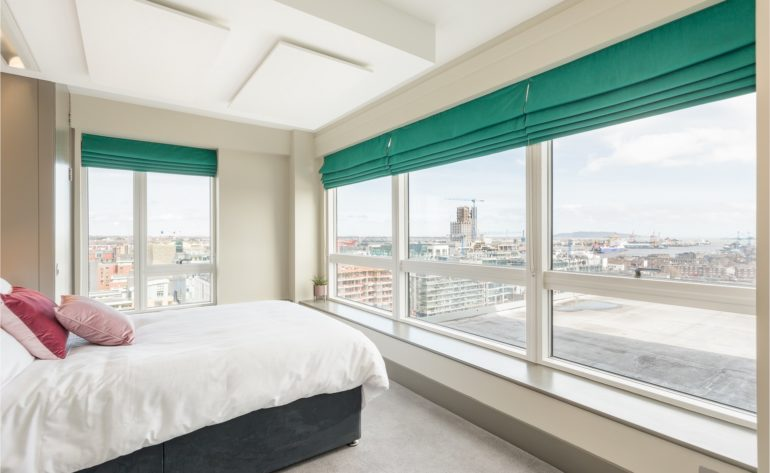79 Millennium Tower - bedroom 3 a