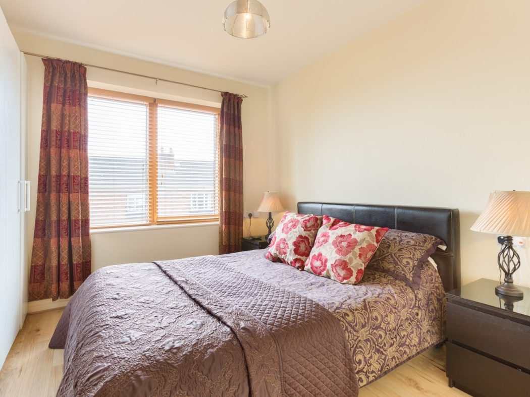 25 Grand Canal Wharf - Bedroom