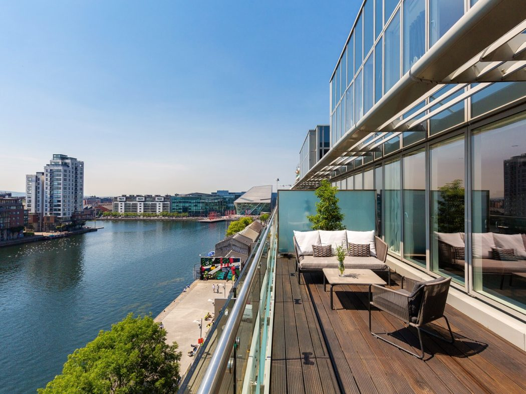 65TheWaterfront_view with Grand Canal Plaza