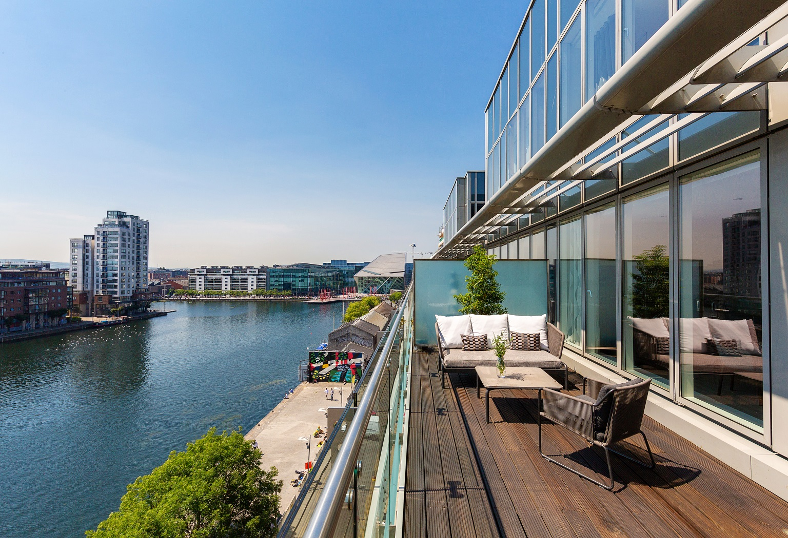 Penthouse at The Waterfront, Grand Canal Dock, Dublin 2