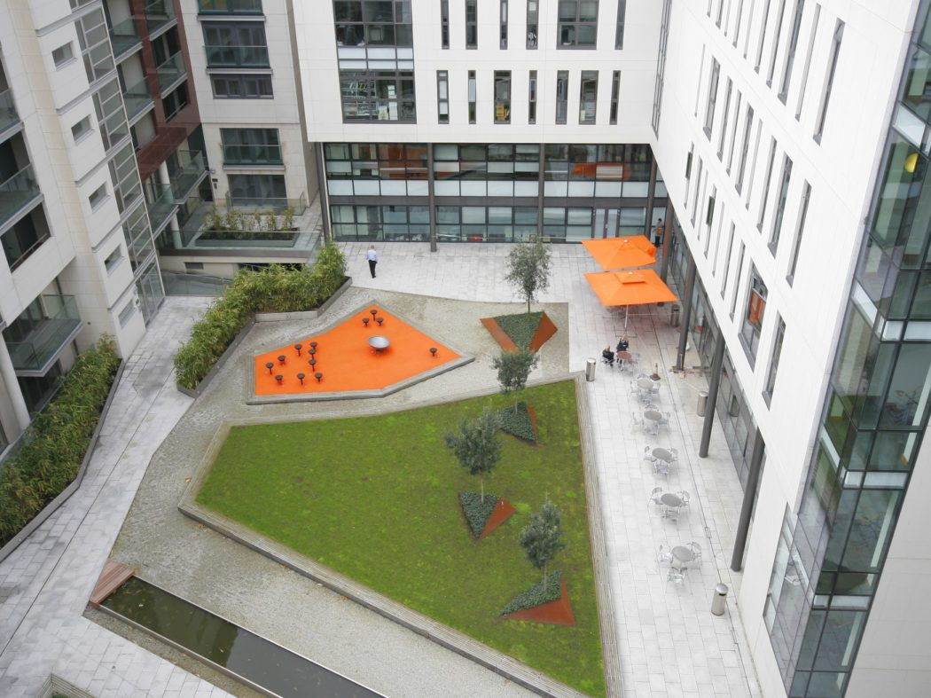 Forbes Quay courtyard
