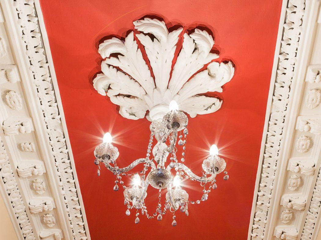 40 Synge Street chandelier