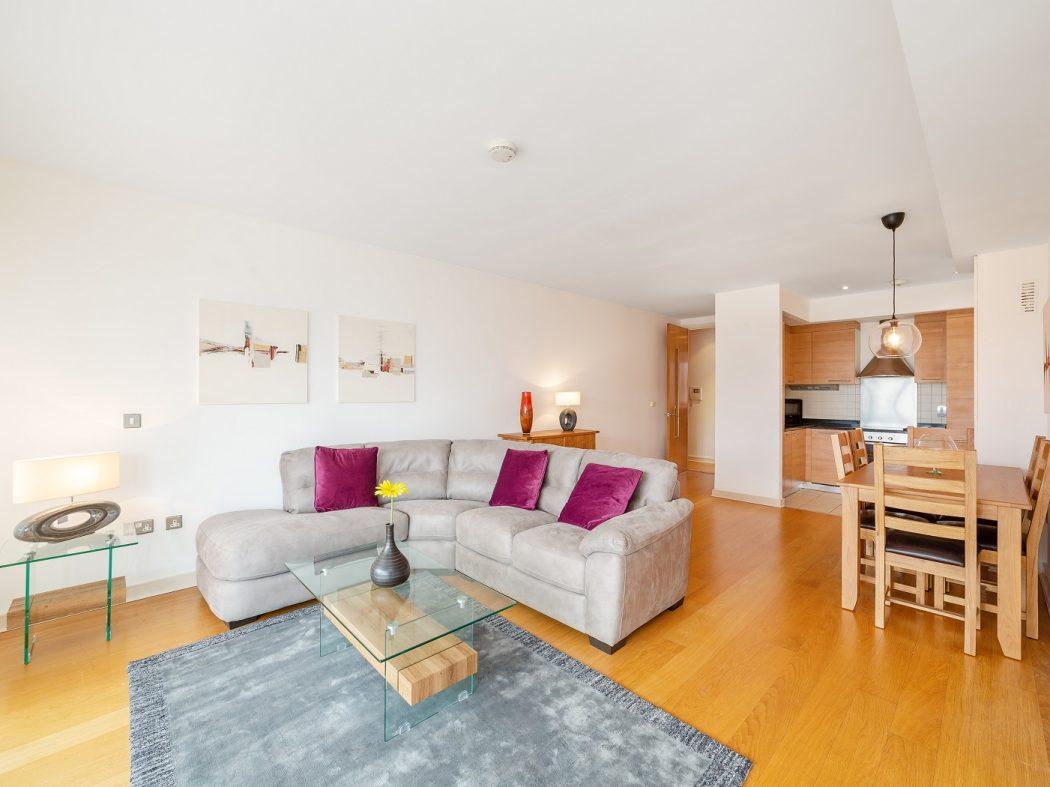 24 Hanover Dock - living room