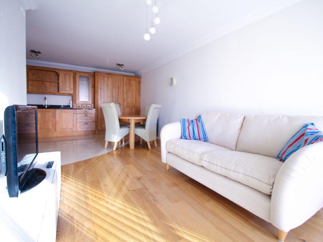 124 Berkley - Living room