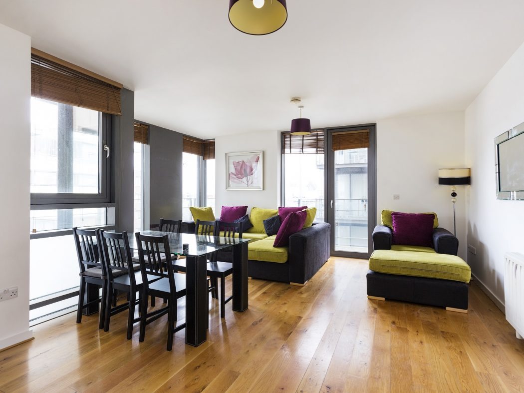 39, Block B, Smithfield Market - Living, dining room