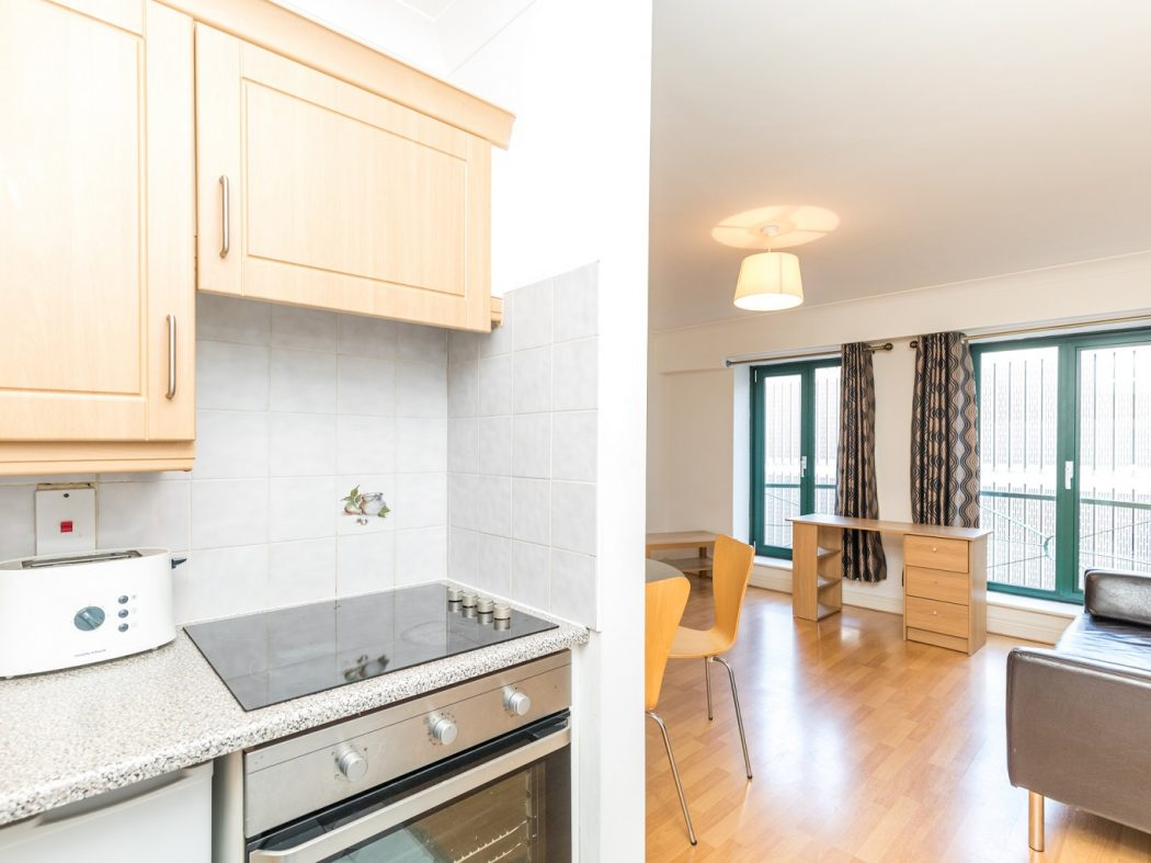 1. 21 Drury Hall - Kitchen, Dining, Living area