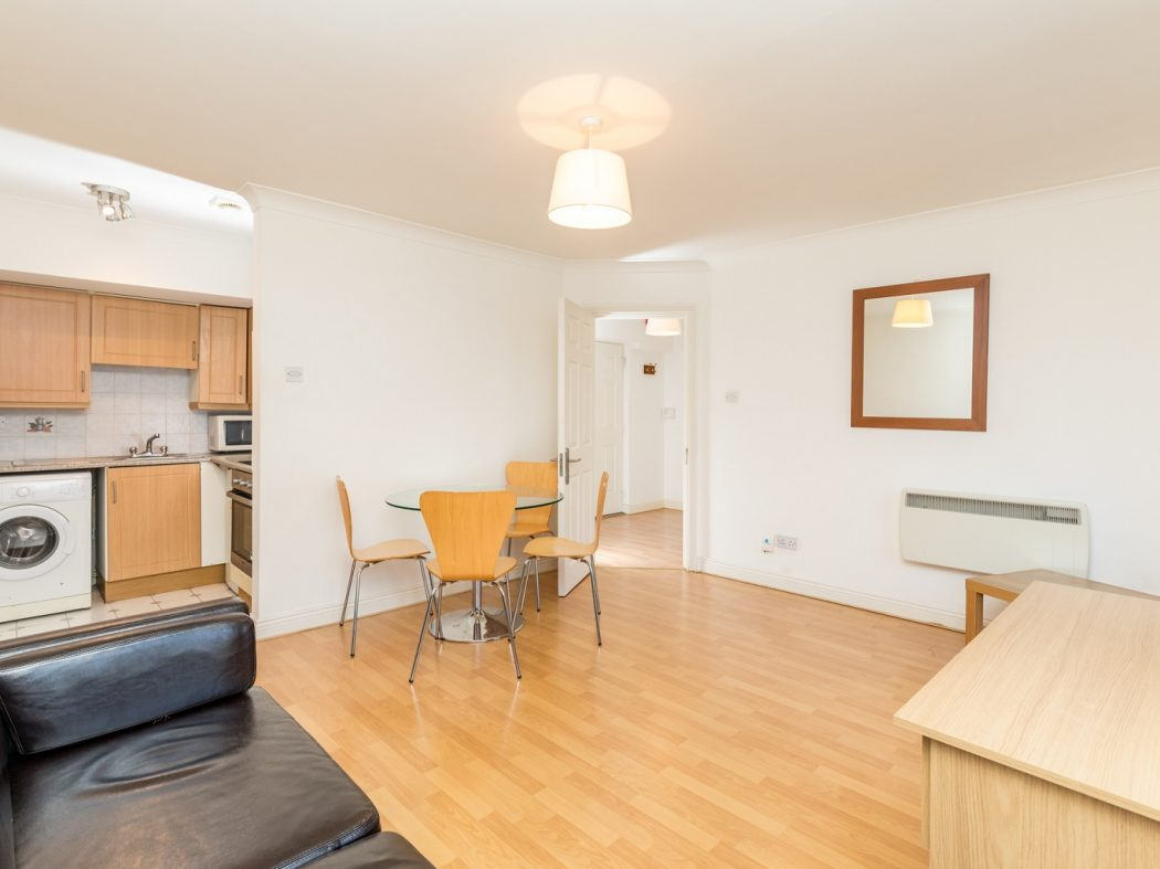 1. 21 Drury Hall - Living, Dining area and Kitchen