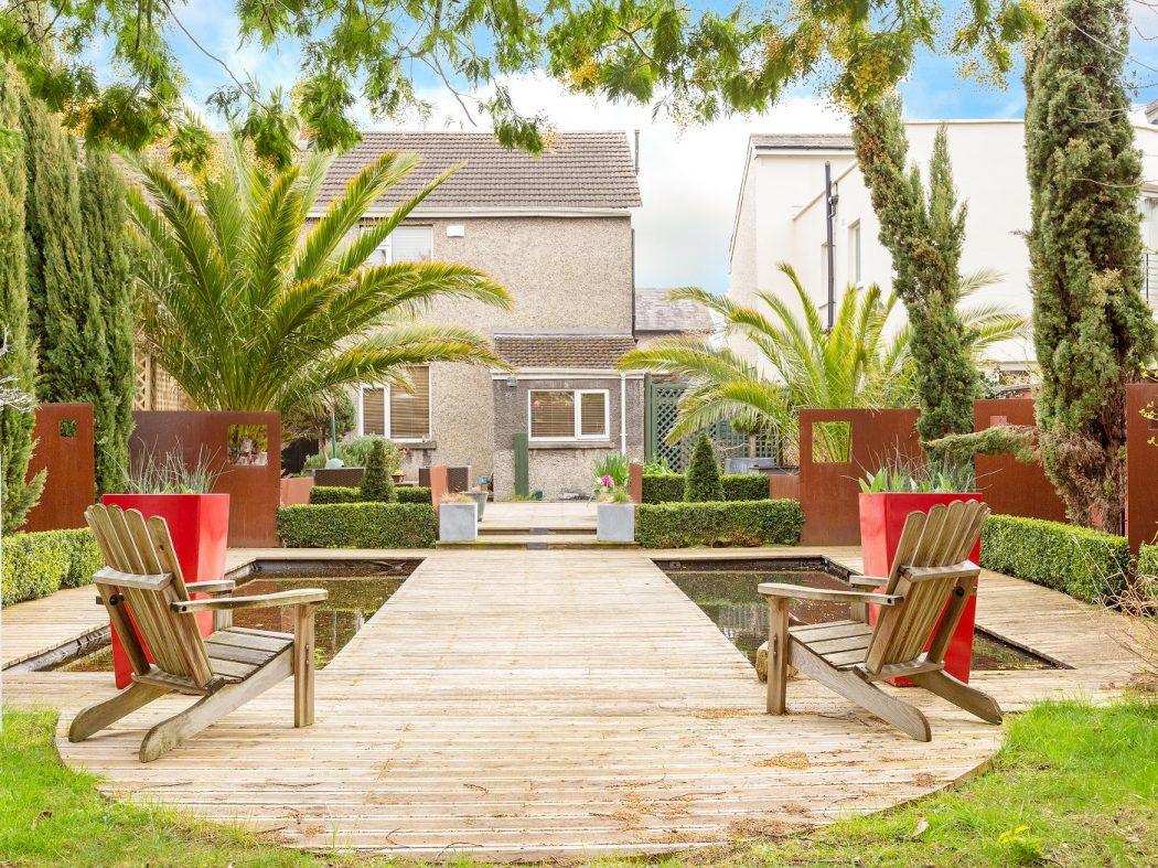 14 Marine Drive - rear garden 2