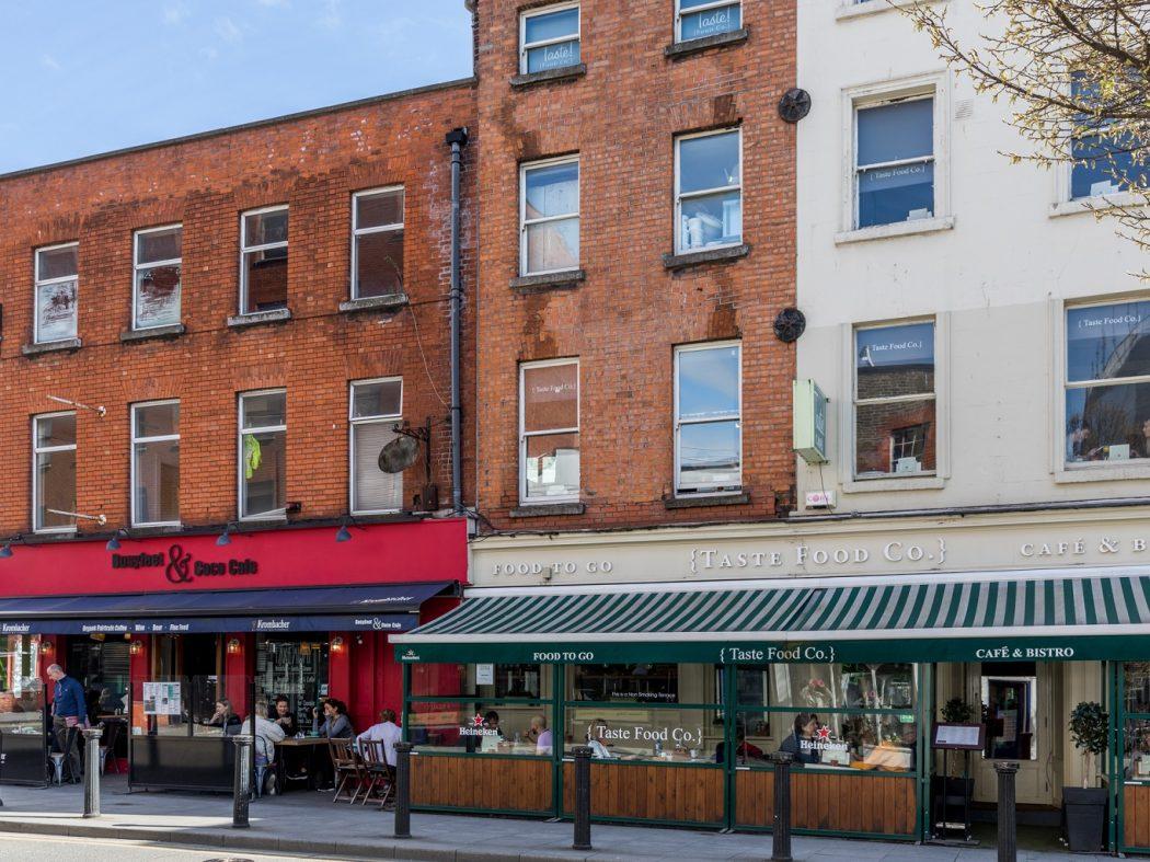 21 Drury Hall - Local eateries