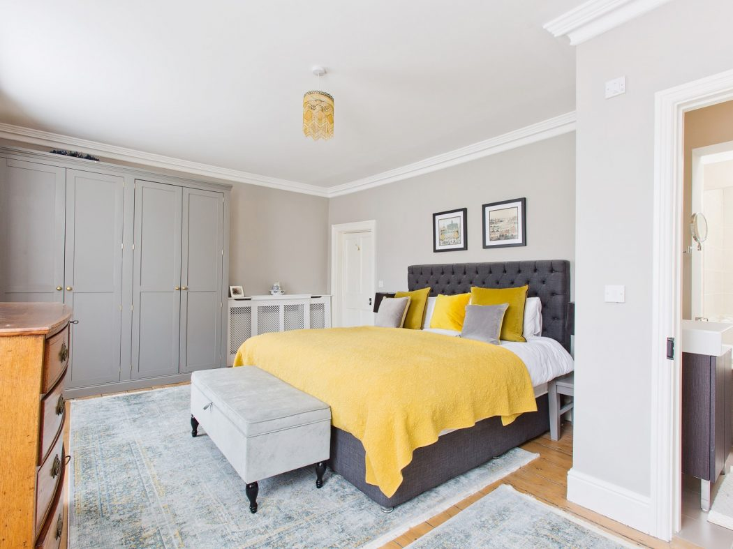 20 Synge Street - Master bed with en-suite