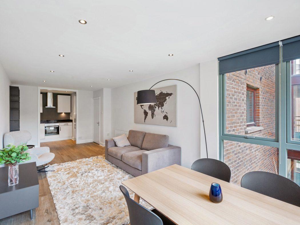 221 The Camden - Living Room