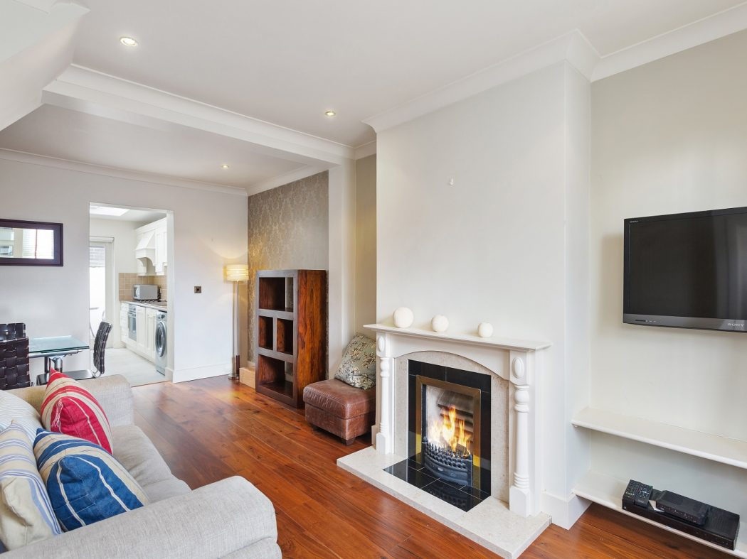 8 Joy Street - Living Room