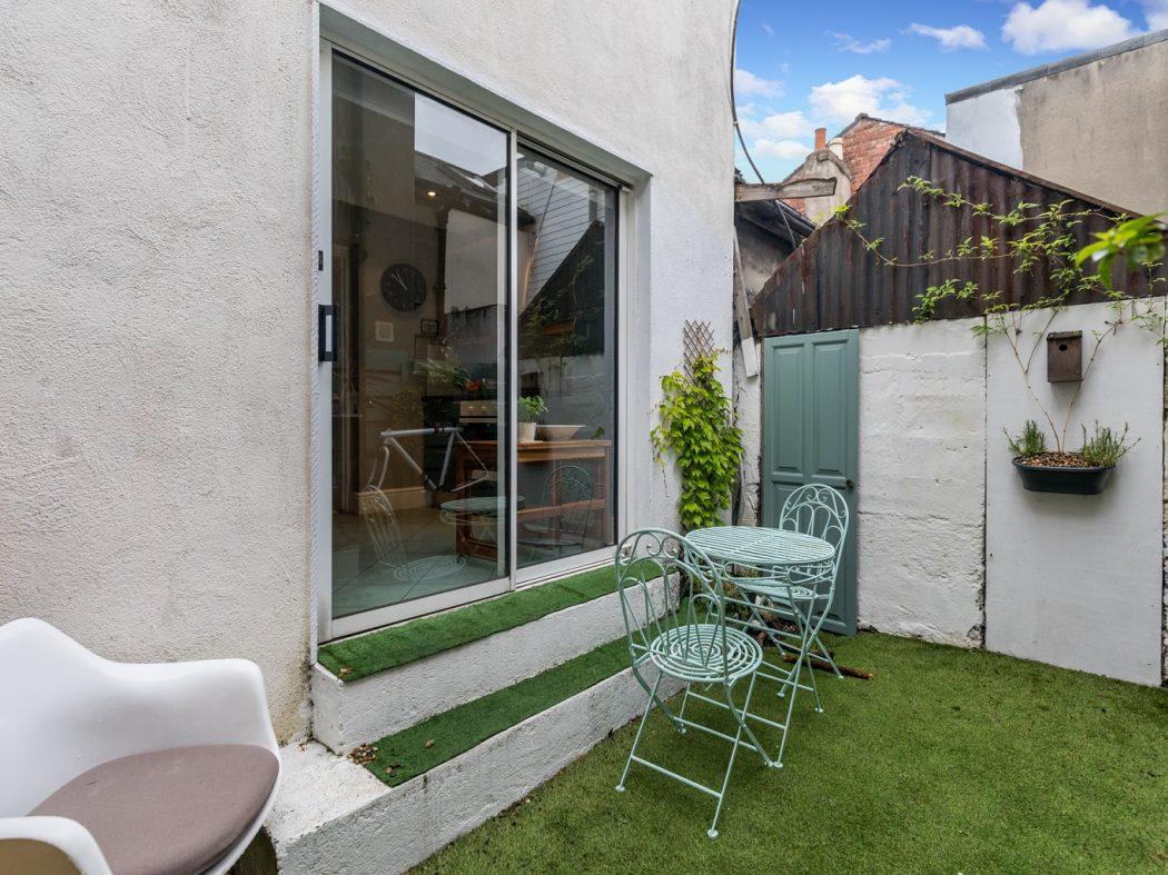 8 Lennox Place - Back garden