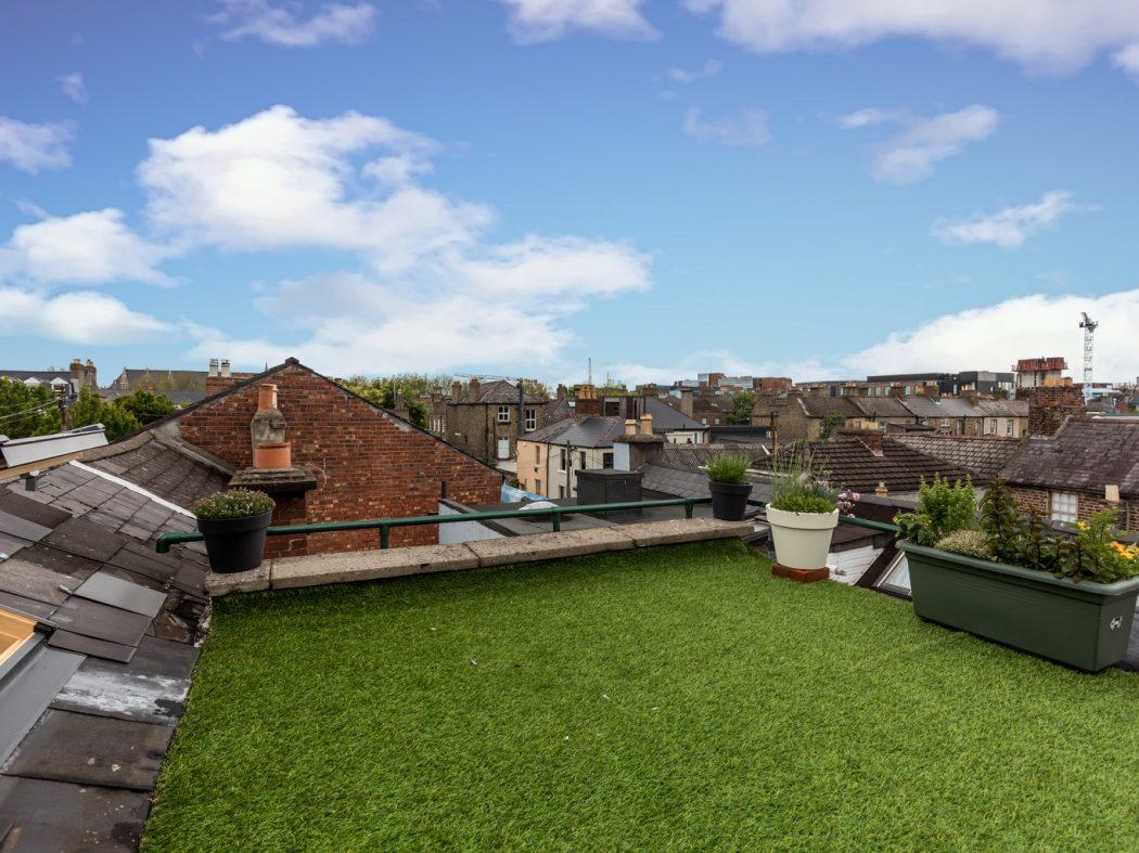 8 Lennox Place - Rooftop garden