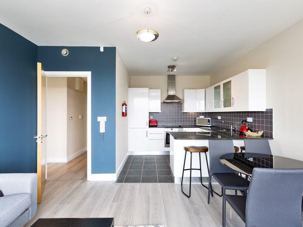 508 Shelbourne Plaza - Living-Kitchen