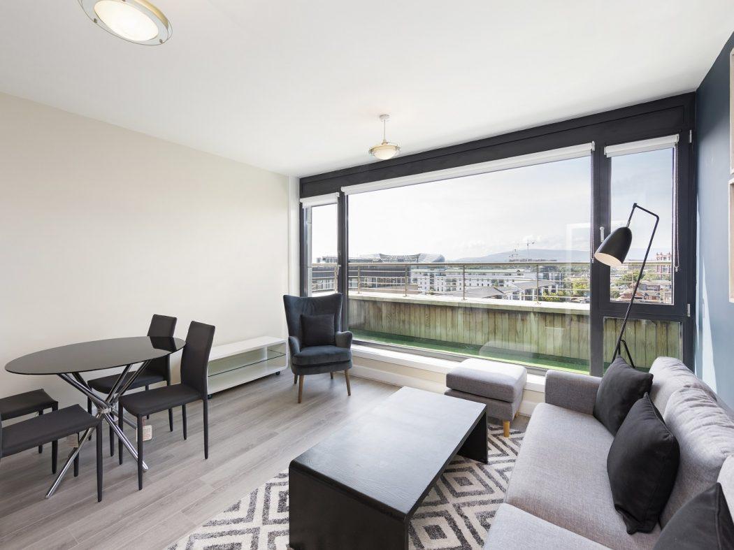 508 Shelbourne Plaza - Living room 2
