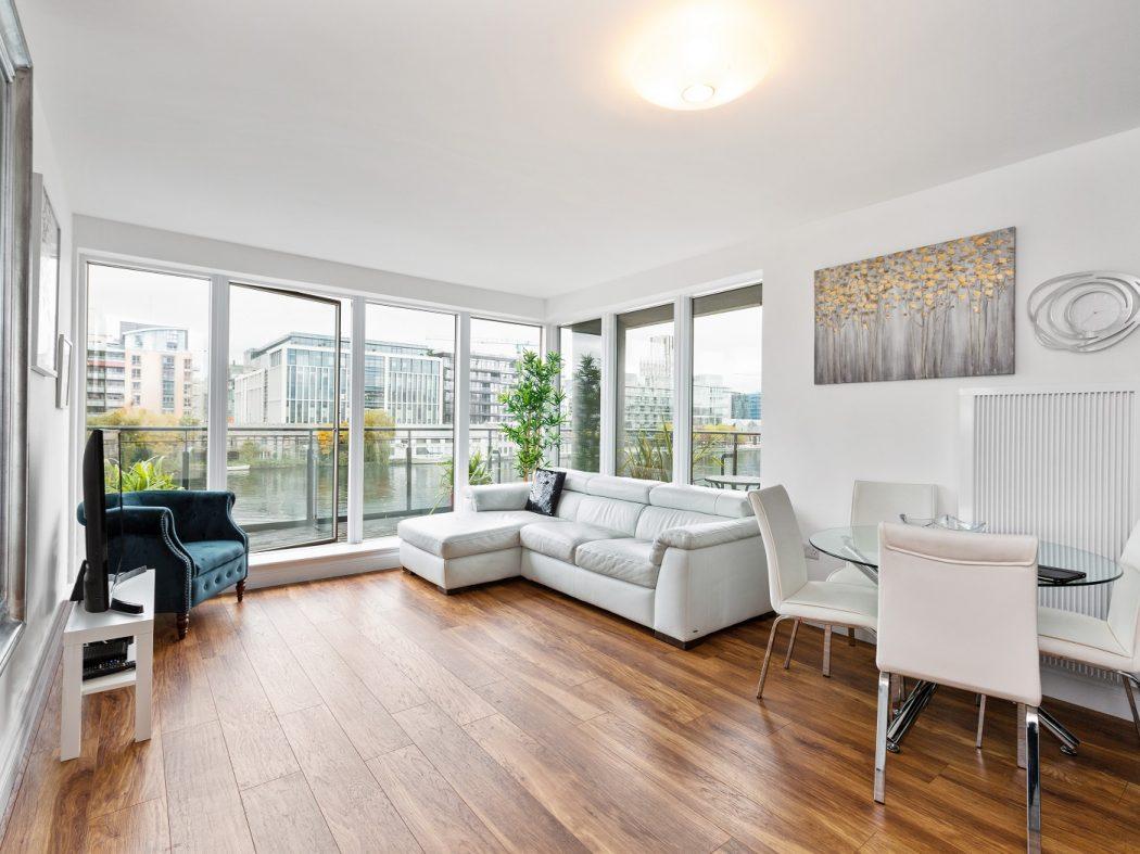 33 Millennium Tower - Living room