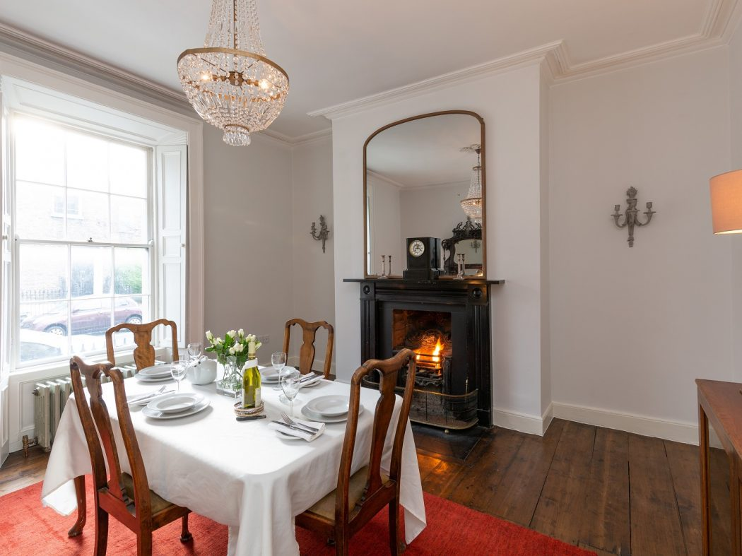 12 Lennox Street - Dining room with view