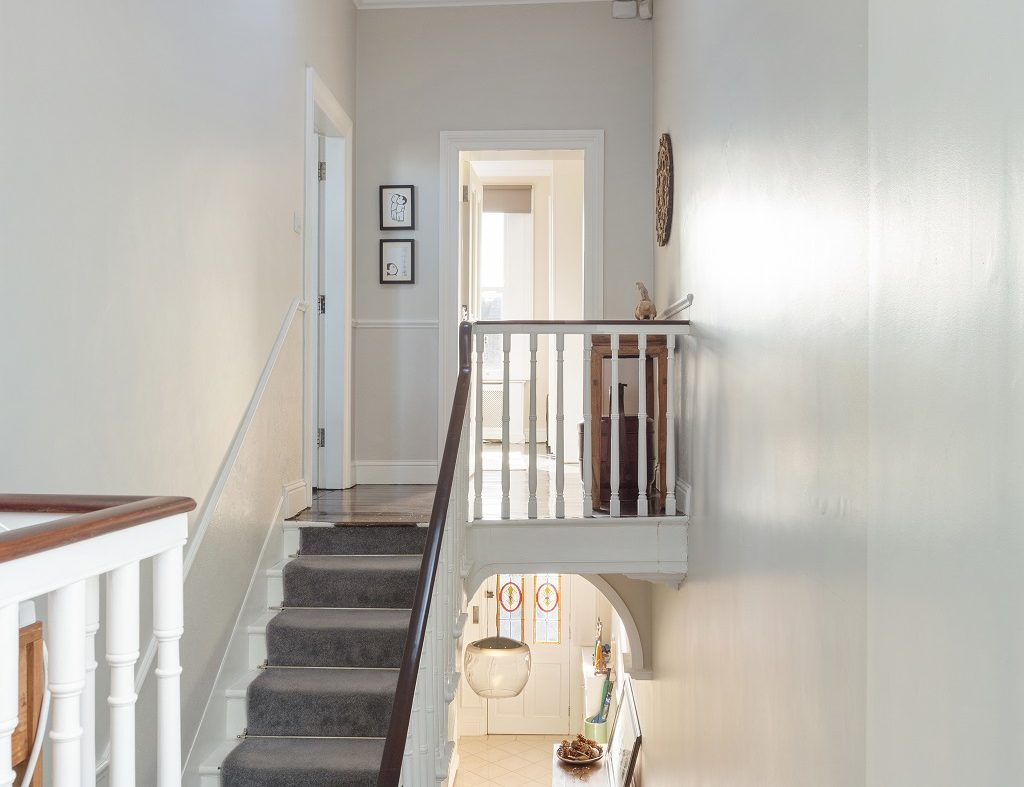 1 Mount Pleasant ave - Stairs to upper floor